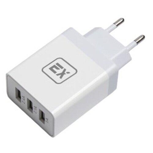 Фото - Зарядное устройство для телефона 3USB 5.5A Exployd Sonder EX-Z-437 QC3.0 White зарядное устройство exployd sonder 2xusb 3 4a white ex z 775