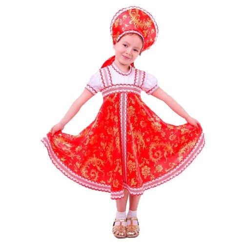 Купить Костюм Страна Карнавалия Красно-бежевые узоры (1371474-1371476, 2010917-2010918), красный/бежевый, размер 110-116, Карнавальные костюмы