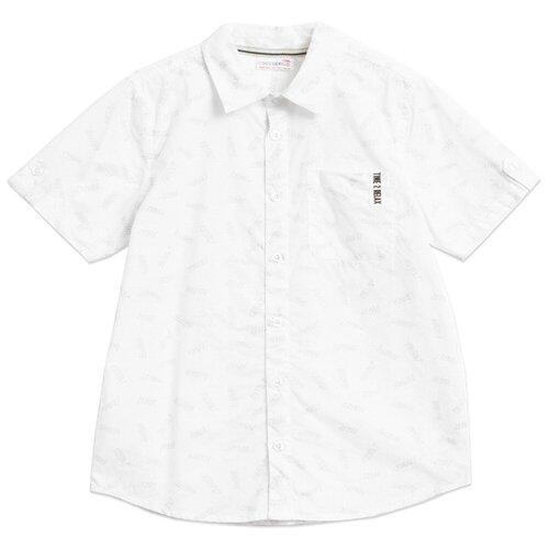 Рубашка COCCODRILLO размер 128, белый