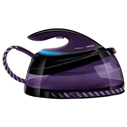 Фото - Парогенератор Philips GC7640 PerfectCare Pure фиолетовый/черный парогенератор philips gc7808 40
