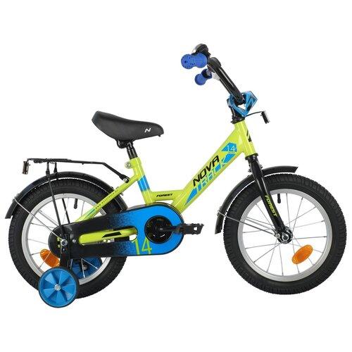 Фото - Детский велосипед Novatrack Forest 14 (2021) зеленый 14 (требует финальной сборки) детский велосипед novatrack twist 20 2020 зеленый требует финальной сборки