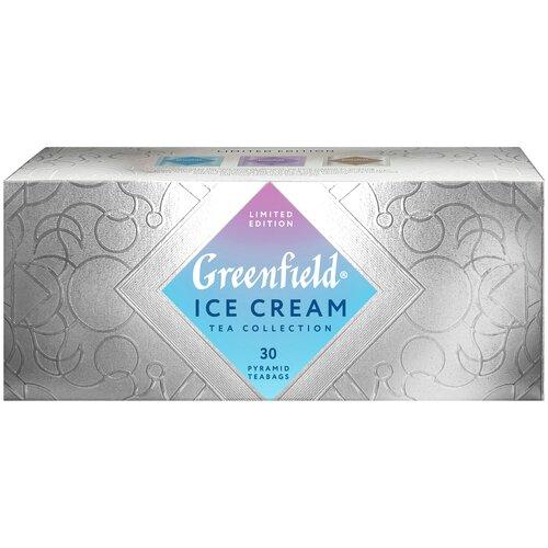 Чай черный Greenfield Limited edition Ice Cream ассорти в пирамидках, 30 шт. чай черный greenfield sicilian citrus в пирамидках 20 шт