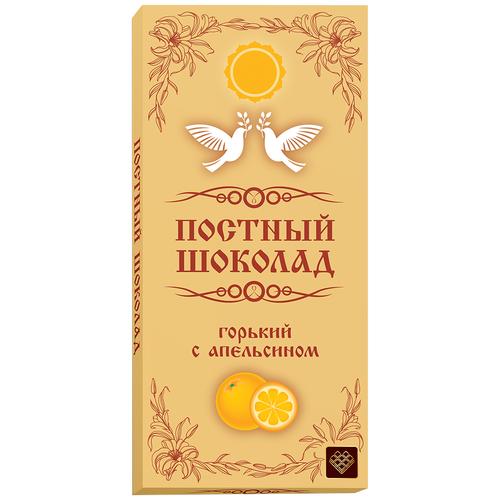 Шоколад Libertad постный горький с апельсином, 100 г шоколад libertad royal горький с апельсином 2 3 кг