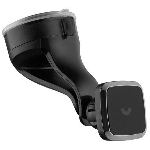 Автомобильный держатель магнитный, PU-присоска c жесткой штангой для крепления на стекло или панель, Prime Line