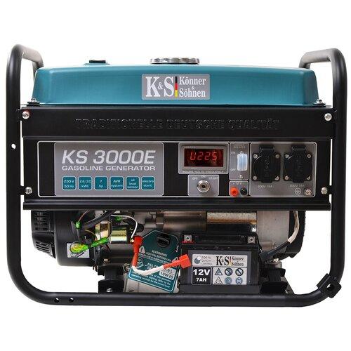 Бензиновый генератор K&S Könner & Söhnen KS 3000E (2600 Вт)