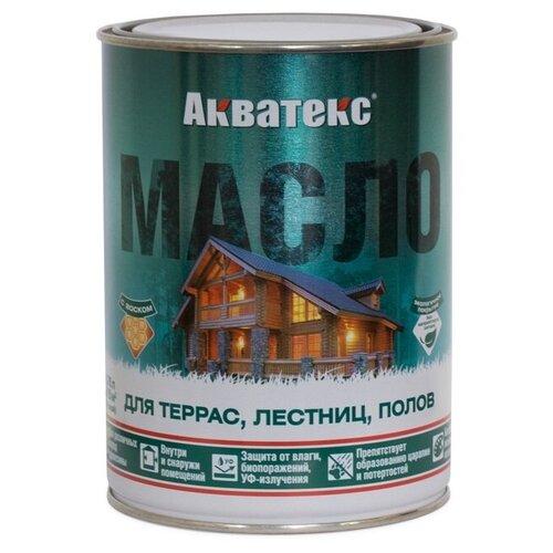 Фото - Масло АКВАТЕКС Масло для террас, лестниц и полов, прозрачный, 0.75 л масло dr schutz h2oil прозрачный 0 75 л