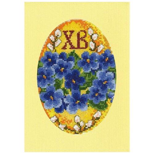 Набор для вышивания, открытка С Пасхой 11 х 16 см МАРЬЯ ИСКУСНИЦА 10.005.03 набор для вышивания марья искусница 11 001 24 испания