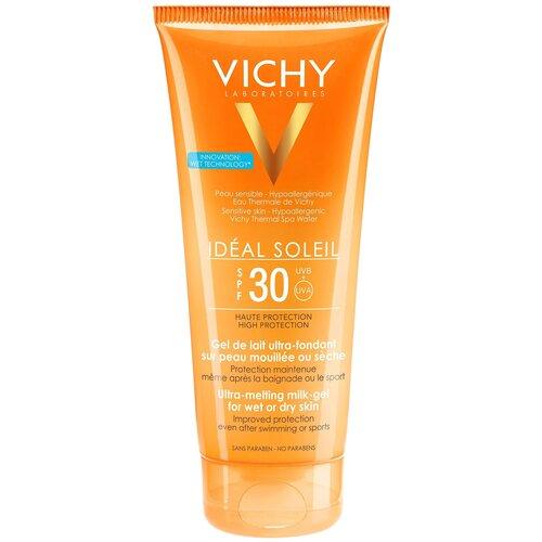 Купить Vichy Capital Ideal Soleil тающая эмульсия с технологией нанесения на влажную кожу SPF 30 200 мл