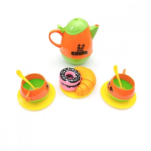 Набор продуктов с посудой Knopa Пора пить чай 87058 разноцветный