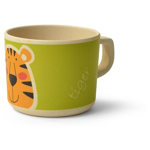 Чашка Fissman бамбуковая (8952 / 8341 / 8343), тигренок