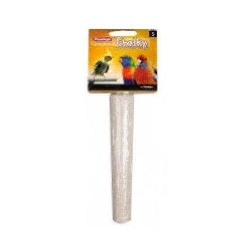 Flamingo жердочка д/попугая из кальция m 22*4 см(