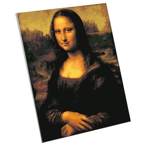 Фото - Картина по номерам Школа талантов Мона Лиза. Леонардо да Вин картина по номерам школа талантов мона лиза леонардо да винчи 40x50cm 5135000