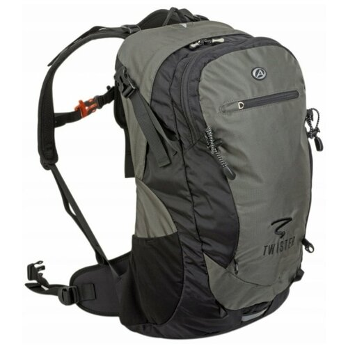 Рюкзак Author TWISTER GSB X7 V=30л 850г с вентиляцией спины, черно-серый палатка tramp lite twister 3