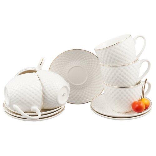 Фото - Чайный набор 12 предметов, Bekker, BK-6833 bekker набор контейнеров bk 5147 белый сиреневый