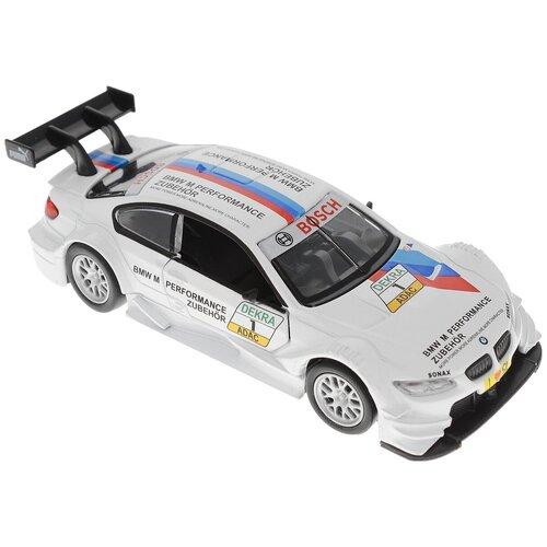 Фото - Легковой автомобиль Пламенный мотор BMW M3 DTM (870227), 11 см, белый эвакуатор пламенный мотор 870364 13 см белый