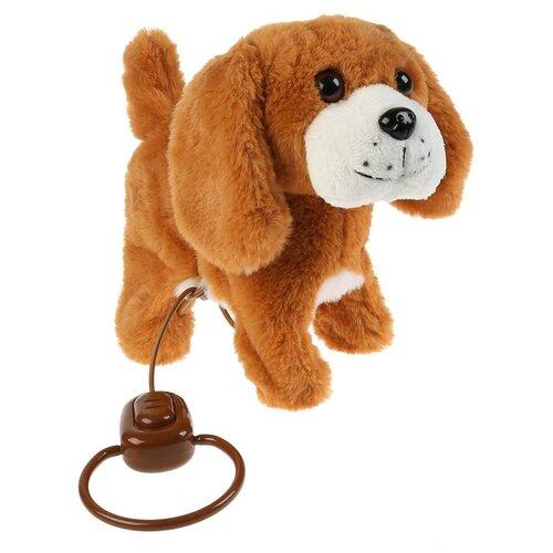 Фото - Интерактивная мягкая игрушка Мой питомец щенок Рэсси, коричневый/белый интерактивная мягкая игрушка mioshi active весёлый щенок mac0601 006 белый