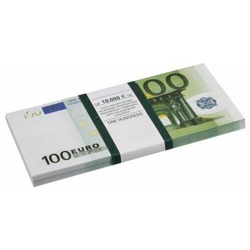 Филькина Грамота Билеты банка приколов 100 евро, зеленый