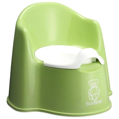 BabyBjorn Кресло-горшок зеленый babybjorn горшок smart светло розовый