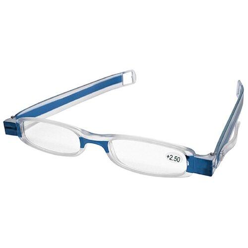 Фото - Очки увеличительные складные +4,0 синяя оправа 3d очки