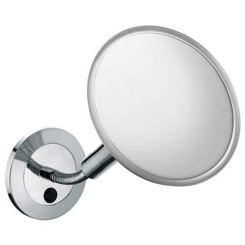 зеркало косметическое настенное keuco bella vista 17605019000 с подсветкой Зеркало косметическое настенное KEUCO Elegance (17676019000) с подсветкой chrome