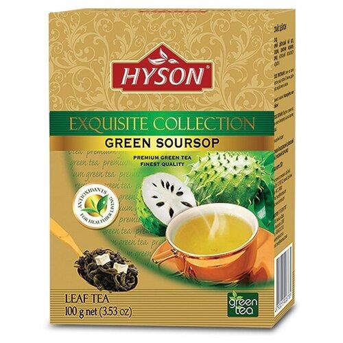 Чай зеленый Hyson Exquisite collection Soursop, 100 г