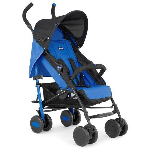 Прогулочная коляска Chicco Echo, power blue прогулочная коляска chicco trolleyme stone
