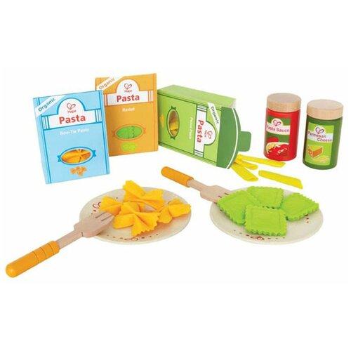 Набор продуктов с посудой Hape Pasta set E3125 разноцветный