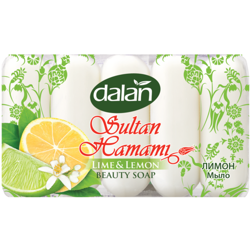 Купить Банное мыло Sultan Hamami Лайм&Лимон, Dalan