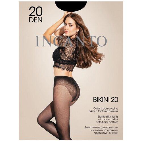 Колготки Incanto Bikini, 20 den, размер 2-S, nero (черный)