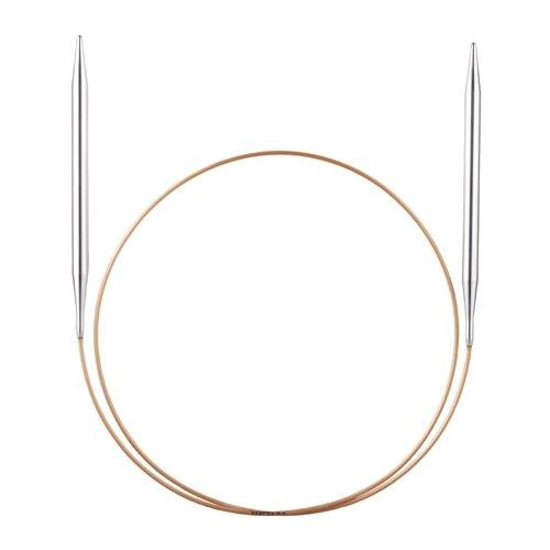 Купить Спицы, круговые, супергладкие, экстрадлинные из никелированной латуни, №3, 250 см 108-7/3-250, ADDI