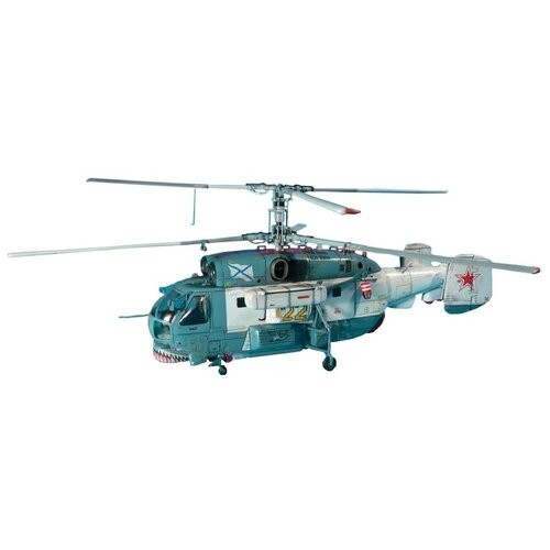 Купить Сборная модель ZVEZDA Российский корабельный поисково-спасательный вертолет (7247) 1:72, Сборные модели