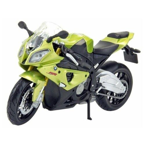 Мотоцикл Maisto BMW S1000RR (39300/2) 1:18, зеленый jiajia мотоцикл bmw s1000rr jt5188 blue