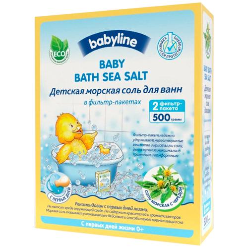 BabyLine Nature Морская соль с чередой, 500 г недорого