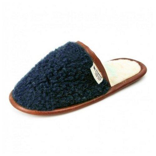 Тапочки ALWERO синий темный 37-38