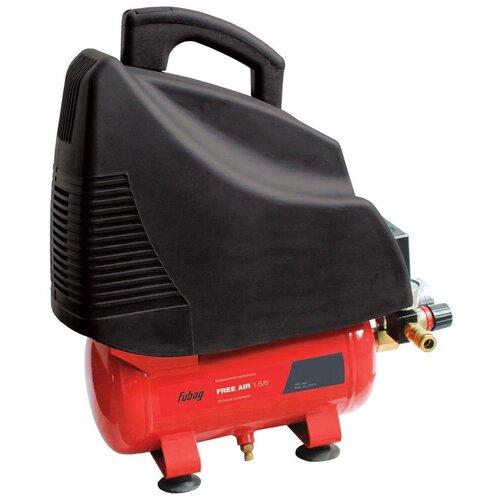 Фото - Компрессор безмасляный Fubag FreeAir 1.5/6, 6 л, 1.1 кВт компрессор безмасляный fubag paint master kit 6 л 1 1 квт
