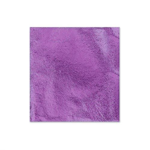 Поталь для золочения в листах 8,5 X 8,5 см 5 листов Фиолетовый