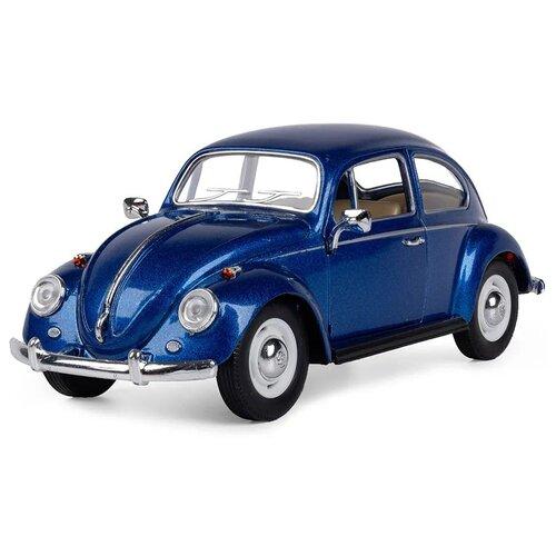 Купить Легковой автомобиль Serinity Toys Volkswagen Classical Beetle 1967 (7002DKT) 1:24, 16 см, лазурный, Машинки и техника