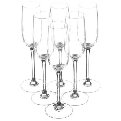 Фото - Luminarc Набор фужеров для шампанского Versailles 160 мл 6 шт G1484 luminarc набор фужеров для шампанского signature 3 шт 170 мл j9756