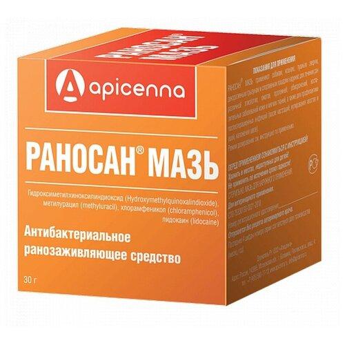 Мазь Apicenna Раносан, 30 г