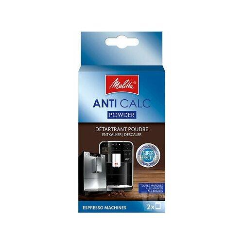 Melitta средство для чистки от накипи 2 шт x 40 г средство для чистки melitta anti calc bio l 250ml