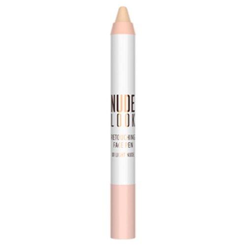 Golden Rose Консилер Nude Look Retouching Face Pen, оттенок 01 light nude