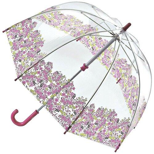 Зонт FULTON прозрачный/розовый