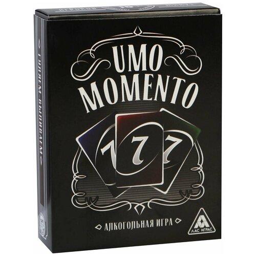 Купить ЛАС ИГРАС / Настольная игра UMOmomento. Alco , 70 карточек, 18+, Лас Играс, Настольные игры