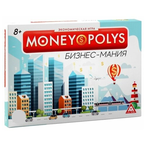 Фото - ЛАС ИГРАС / Детская игра / Обучающая игра / Семейная игра / Экономическая игра MONEY POLYS. Бизнес-мания, 8+ игра