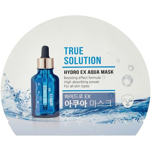 Celranico тканевая маска True Solution Hydro Ex Aqua увлажняющая, 23 мл недорого