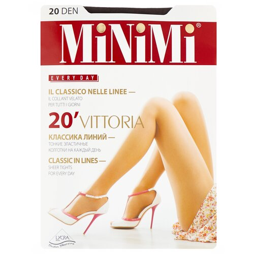 Фото - Колготки MiNiMi Vittoria, 20 den, размер 3-M, fumo (серый) колготки minimi vittoria 20 den размер 4 l fumo серый