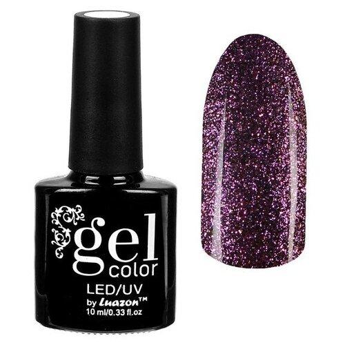 Фото - Гель-лак для ногтей Luazon Gel color Хамелеон, 10 мл, 008 лиловый гель лак для ногтей luazon gel color termo 10 мл а2 076 пурпурный перламутровый