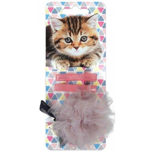 Набор Daisy Design Kittens. Дымка 3 шт. розовый/серый аксессуары daisy design набор аксессуаров для волос kittens дымка