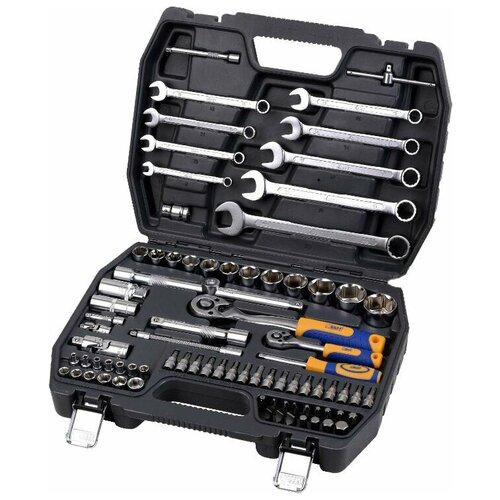 Набор автомобильных инструментов KRAFT KT 700305, 82 предм. недорого