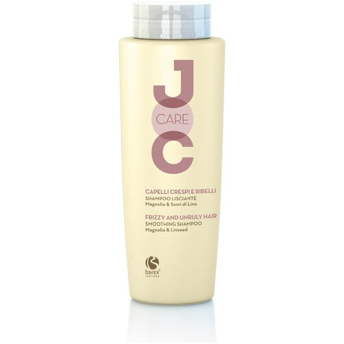 Фото - Barex шампунь JOC Smoothing Magnolia & Linseed разглаживающий с магнолией и семенем льна, 250 мл barex шампунь joc cure energizing против выпадения волос с имбирем корицей и витаминами 250 мл